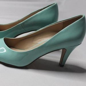 Call It Spring mint green pumps